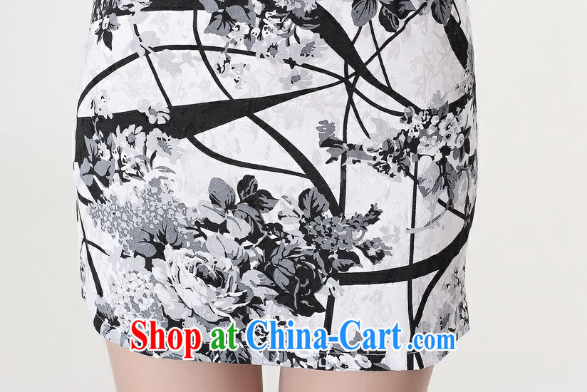 cheongsam dress summer stylish new cultivating short-sleeved retro-day gathering, qipao dress picture color XXL pictures, price, brand platters! Elections are good character, the national distribution, so why buy now enjoy more preferential! Health