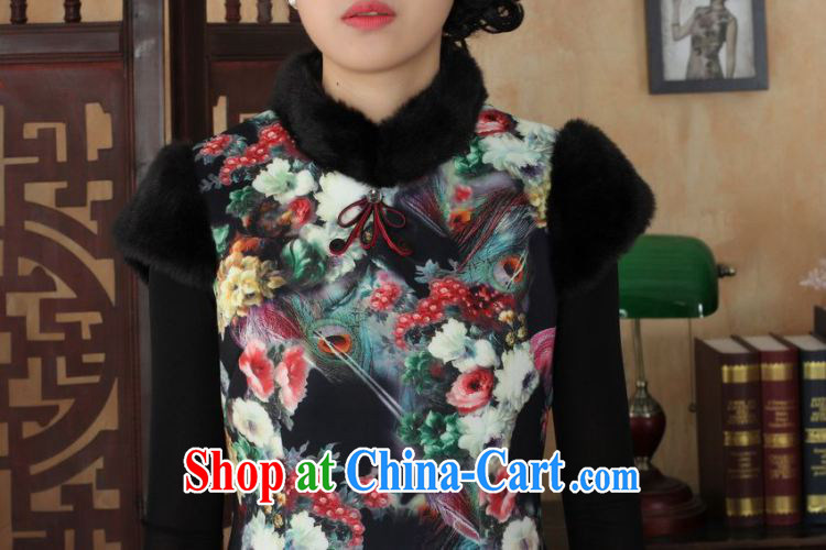 Jing An outfit, Ms. Tang with improved winter dresses, for the waist dress dresses picture color 2 XL pictures, price, brand platters! Elections are good character, the national distribution, so why buy now enjoy more preferential! Health
