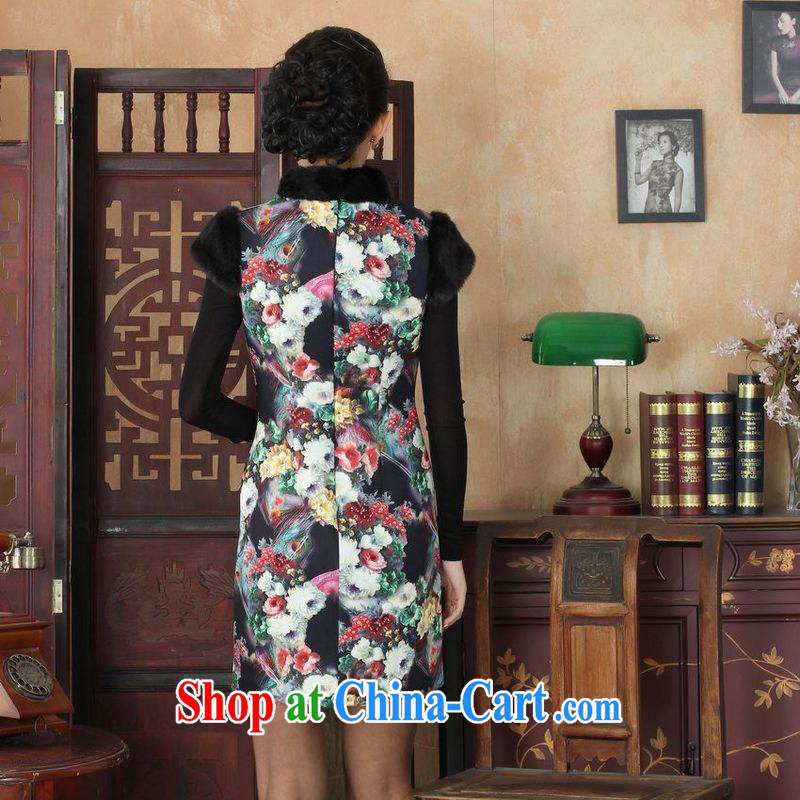 Jing An outfit, Ms. Tang with improved winter dresses, for the waist dress dresses picture color 2 XL, facilitating Jing, shopping on the Internet