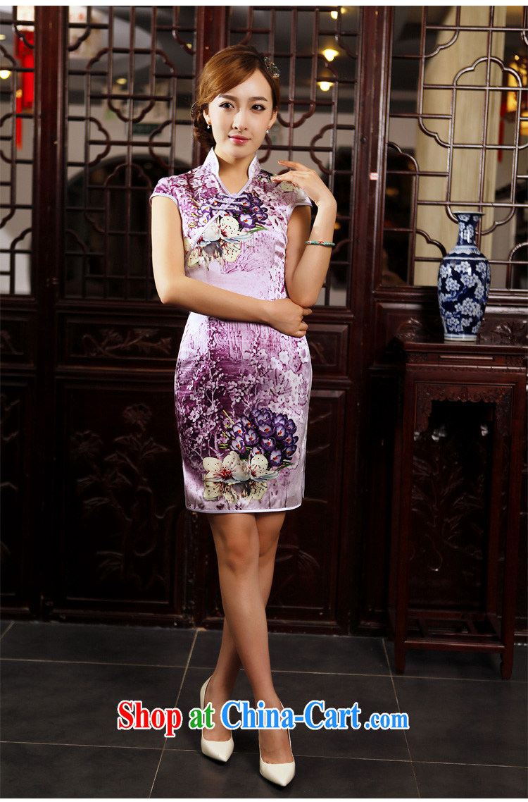 Butterfly Lovers busy spring 2015 spring new cheongsam dress improved stylish short daily outfit 49,202 figure XXL pictures, price, brand platters! Elections are good character, the national distribution, so why buy now enjoy more preferential! Health