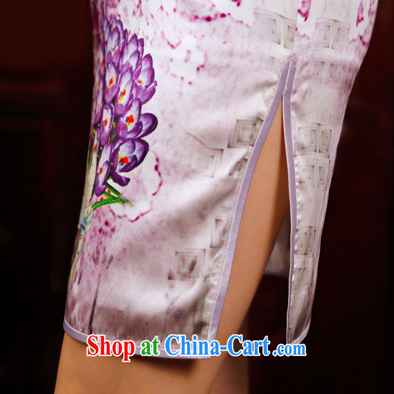 Butterfly Lovers busy spring 2015 spring new cheongsam dress improved stylish short daily outfit 49,202 figure XXL, Butterfly Lovers, shopping on the Internet