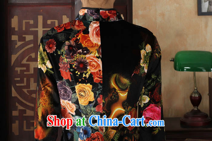 Ko Yo vines into colorful spring 2015 New Tang with stylish stretch the wool air painting flowers is hard-pressed for the retro 5 short sleeves cheongsam TD TD 0040 0040 175/2 XL pictures, price, brand platters! Elections are good character, the national distribution, so why buy now enjoy more preferential! Health