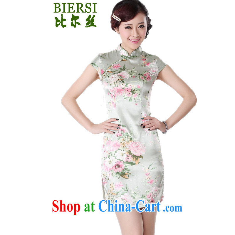 Bill Gates, national style in a new, female Chinese qipao, for a tight stamp short, short-sleeved dresses skirt shown in Figure L