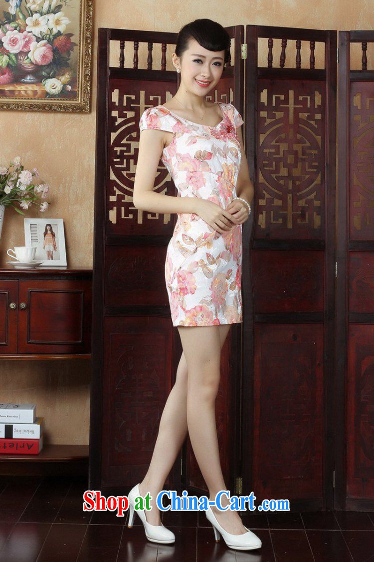 To Green, stylish new ladies improved Chinese qipao the flap embroidered beauty short cheongsam dress as S pictures, price, brand platters! Elections are good character, the national distribution, so why buy now enjoy more preferential! Health