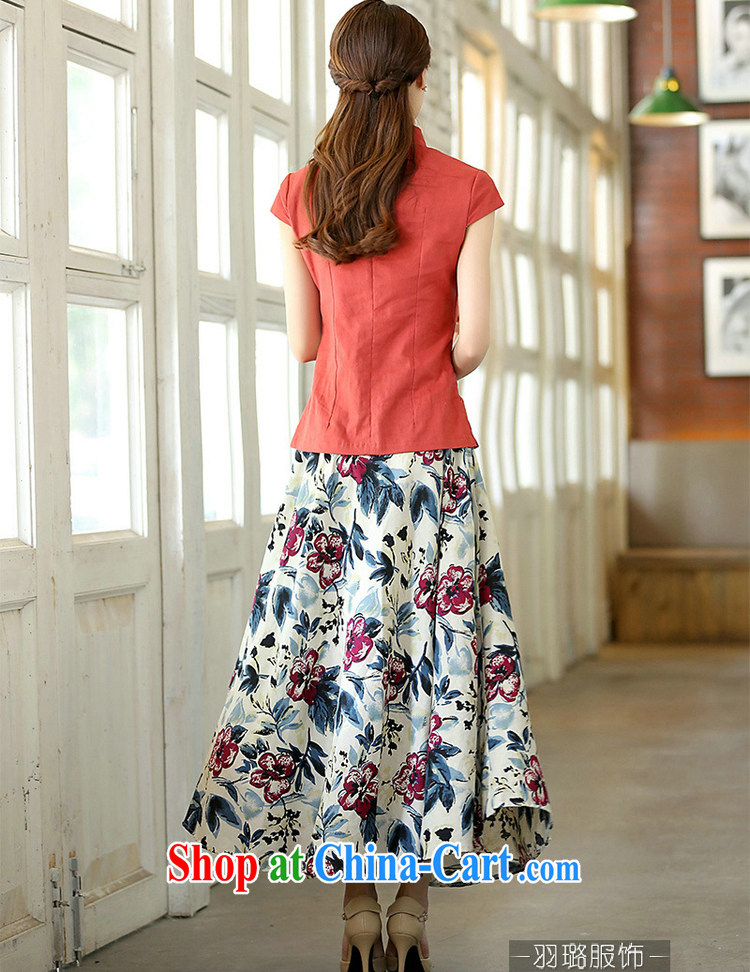 Jack Plug, spring and summer, new national wind, served women improved cheongsam shirt short-sleeved cotton Ms. Yau Ma Tei Tong load shirt beige Yuanyang flower M pictures, price, brand platters! Elections are good character, the national distribution, so why buy now enjoy more preferential! Health