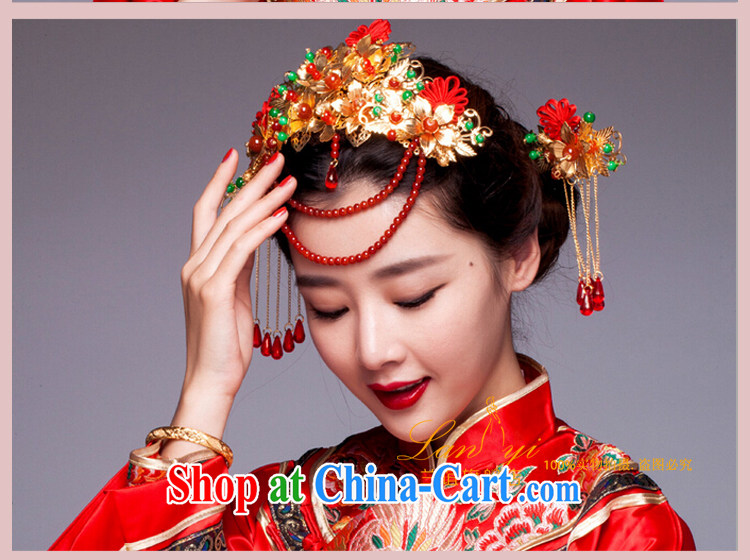 Friends, bride's ancient and Chinese-trim red dragon costumes and hair accessories Su-wo service classic cheongsam dress head-dress costumes and pictures, price, brand platters! Elections are good character, the national distribution, so why buy now enjoy more preferential! Health