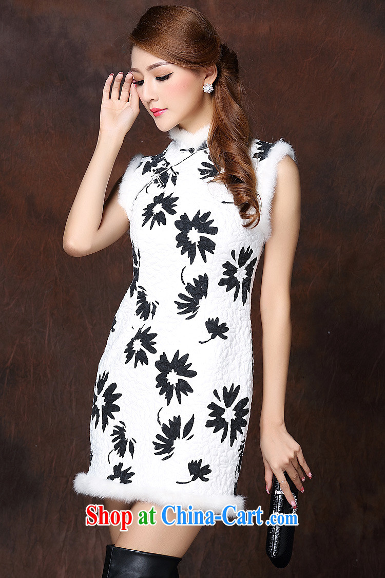 light at the improved stylish spell gross sleeveless quilted is not the Lao short cheongsam XWGQF 141,011 picture color XL pictures, price, brand platters! Elections are good character, the national distribution, so why buy now enjoy more preferential! Health