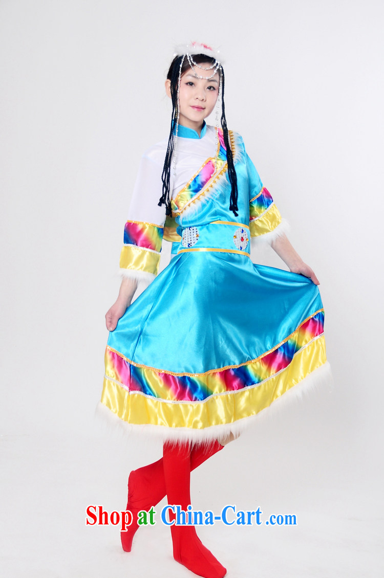 I should be grateful if you would arrange for her dream new Tibetan ethnic minority show clothing adult Hmong dance clothing Tibetan ethnic Mongolian dance clothing HXYM 0048 blue XXXL pictures, price, brand platters! Elections are good character, the national distribution, so why buy now enjoy more preferential! Health