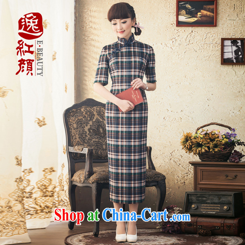 once and for all and without wind flow the original long sleeves in antique dresses winter clothes daily outfit skirt improved stylish new blue XL