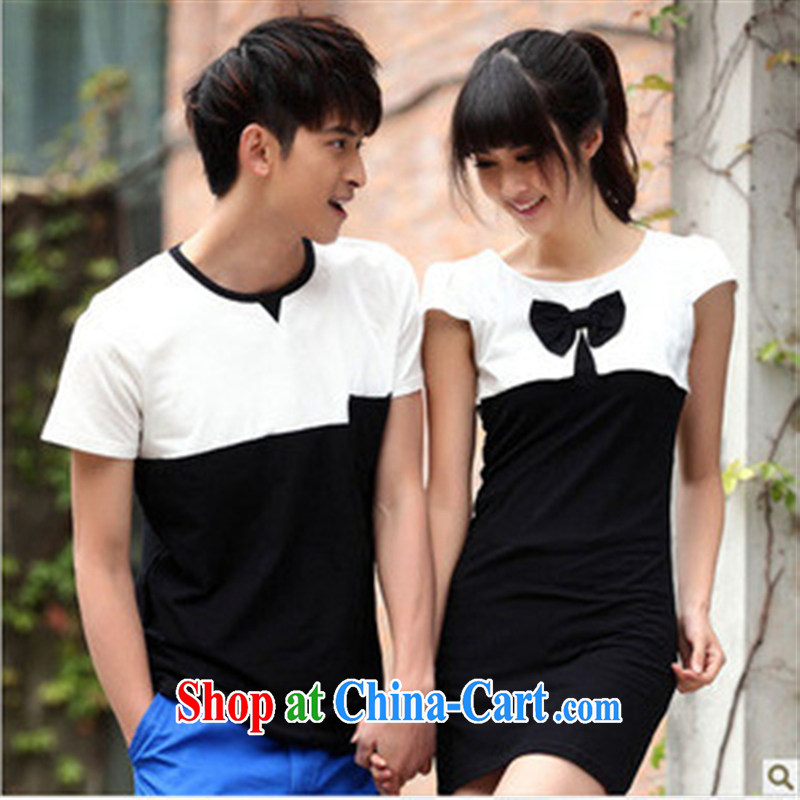 Qin Qing store for couples with male T shirts dresses 7358205 Single Piece price red male XXL, GENYARD, shopping on the Internet