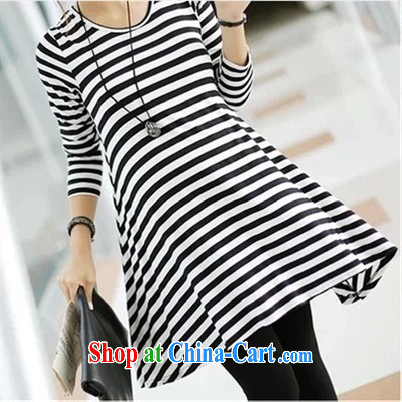 Ya-ting store pregnant women with autumn and the new streaks the skirt long-sleeved maternity dress maternity dress picture color code