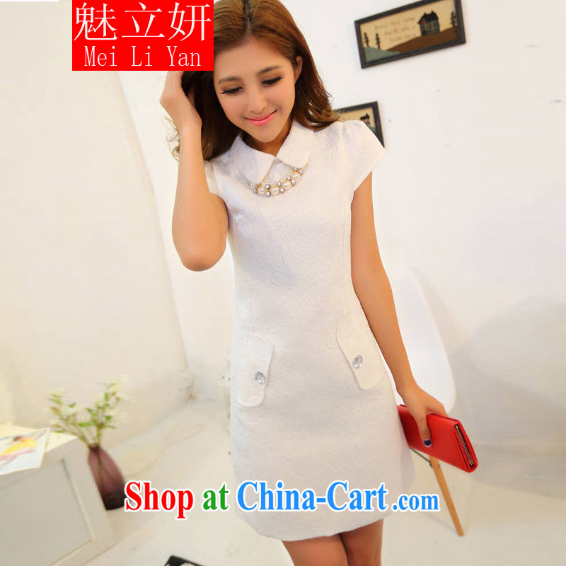 Clearly the 2015 figure skating to take China wind Solid Color elegance beauty dresses, girls dresses black L