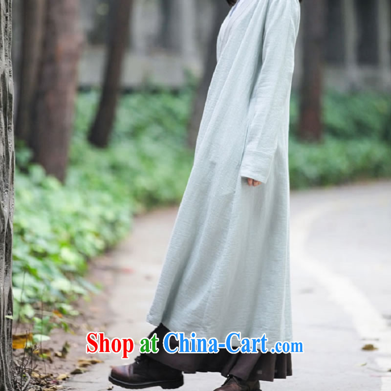 q heart Id al-Fitr (Yue heart health female spring New Products Chinese Han-Grand Prix, softness on his breast, long cotton the Commission, served 1852 toner green L, ask heart ID al-Fitr, shopping on the Internet