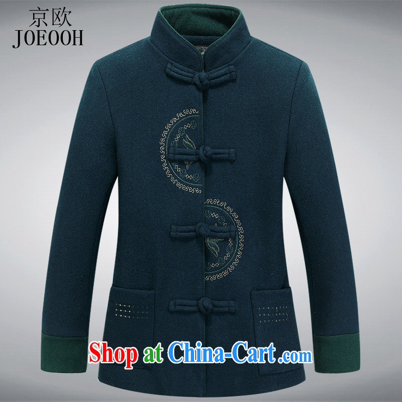 Vladimir Putin in the older female autumn and winter, in what gross jacket MOM replace older persons spring? The use Chinese green XXXL