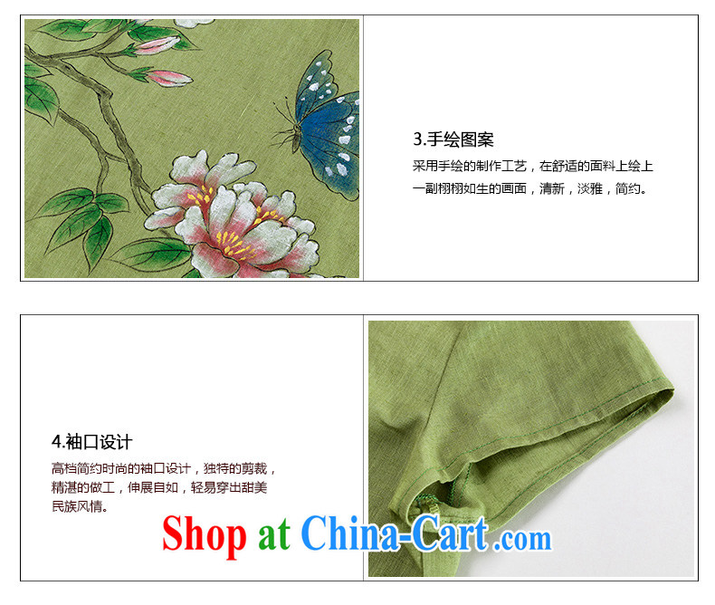 Royal Seal, original cotton the Chinese culture quality lady V collar short-sleeve T-shirt hand-painted minimalist Sau San Tong replacing T-shirt light blue S pictures, price, brand platters! Elections are good character, the national distribution, so why buy now enjoy more preferential! Health