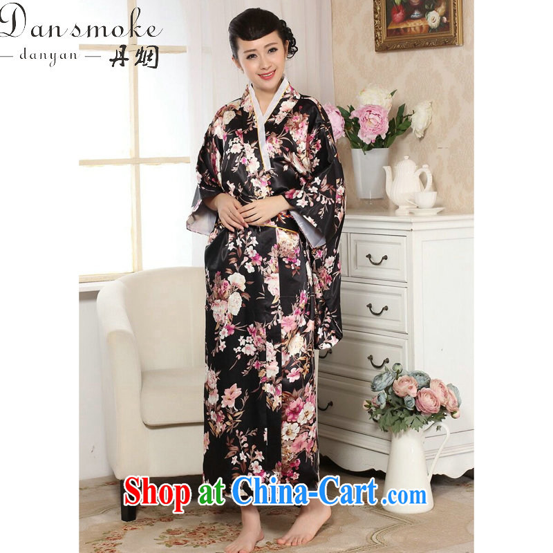 Dan smoke female new 2015 stage clothing kimono damask stamp Chinese improved long Japanese kimono costumes picture color code