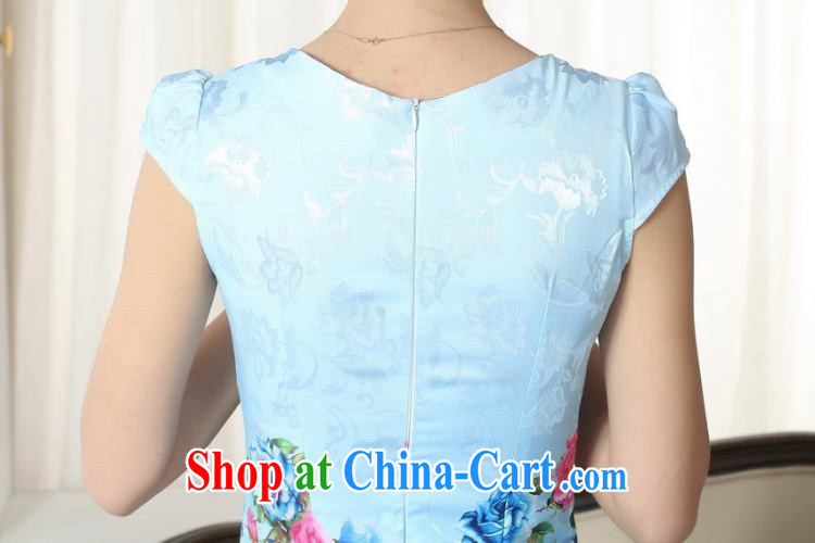 Shanghai optimization new summer elegance Chinese qipao improved graphics thin short cheongsam picture color 2 XL pictures, price, brand platters! Elections are good character, the national distribution, so why buy now enjoy more preferential! Health