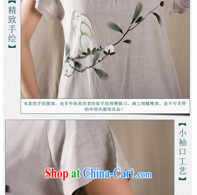 The card is still (YERCARSEN) 2015 summer new antique Chinese cotton Ms. Yau Ma Tei Chinese cheongsam shirt gray XXL pictures, price, brand platters! Elections are good character, the national distribution, so why buy now enjoy more preferential! Health