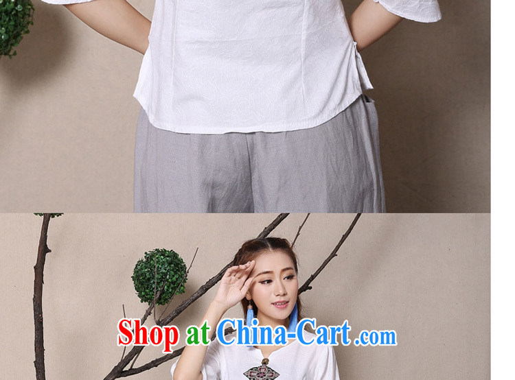 The card is still (YERCARSEN) 2015 original spring and summer new cuff in Yau Ma Tei cotton shirt 100 ground National wind embroidery girls shirt white XL pictures, price, brand platters! Elections are good character, the national distribution, so why buy now enjoy more preferential! Health