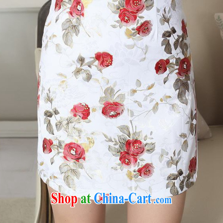 According to fuser summer stylish new female Chinese improved Chinese cheongsam dress, for a tight decals cultivating short cheongsam dress LGD/D 0290 #2 XL pictures, price, brand platters! Elections are good character, the national distribution, so why buy now enjoy more preferential! Health