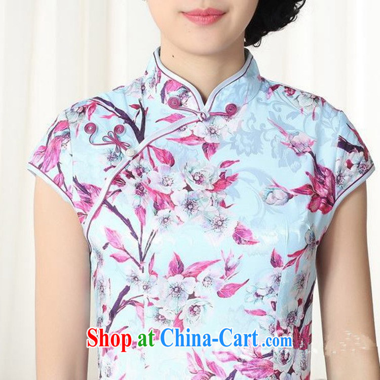 According to fuser stylish new ladies retro improved daily Chinese Chinese qipao Classic tray snaps cultivating cheongsam dress LGD/D #0259 figure 2 XL pictures, price, brand platters! Elections are good character, the national distribution, so why buy now enjoy more preferential! Health