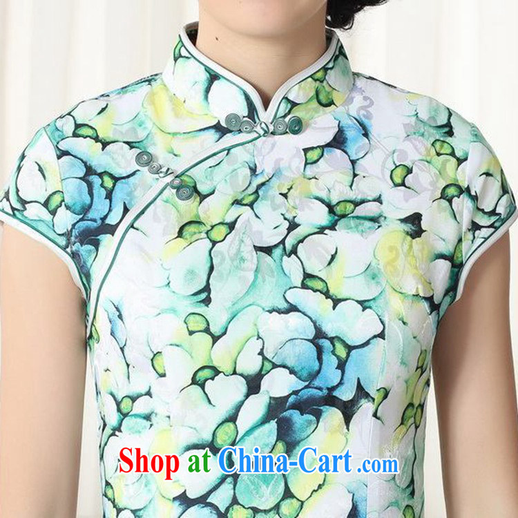 According to fuser stylish new female Chinese improved Chinese cheongsam dress, for a tight cultivating Chinese qipao dress LGD/D #0258 figure 2 XL pictures, price, brand platters! Elections are good character, the national distribution, so why buy now enjoy more preferential! Health
