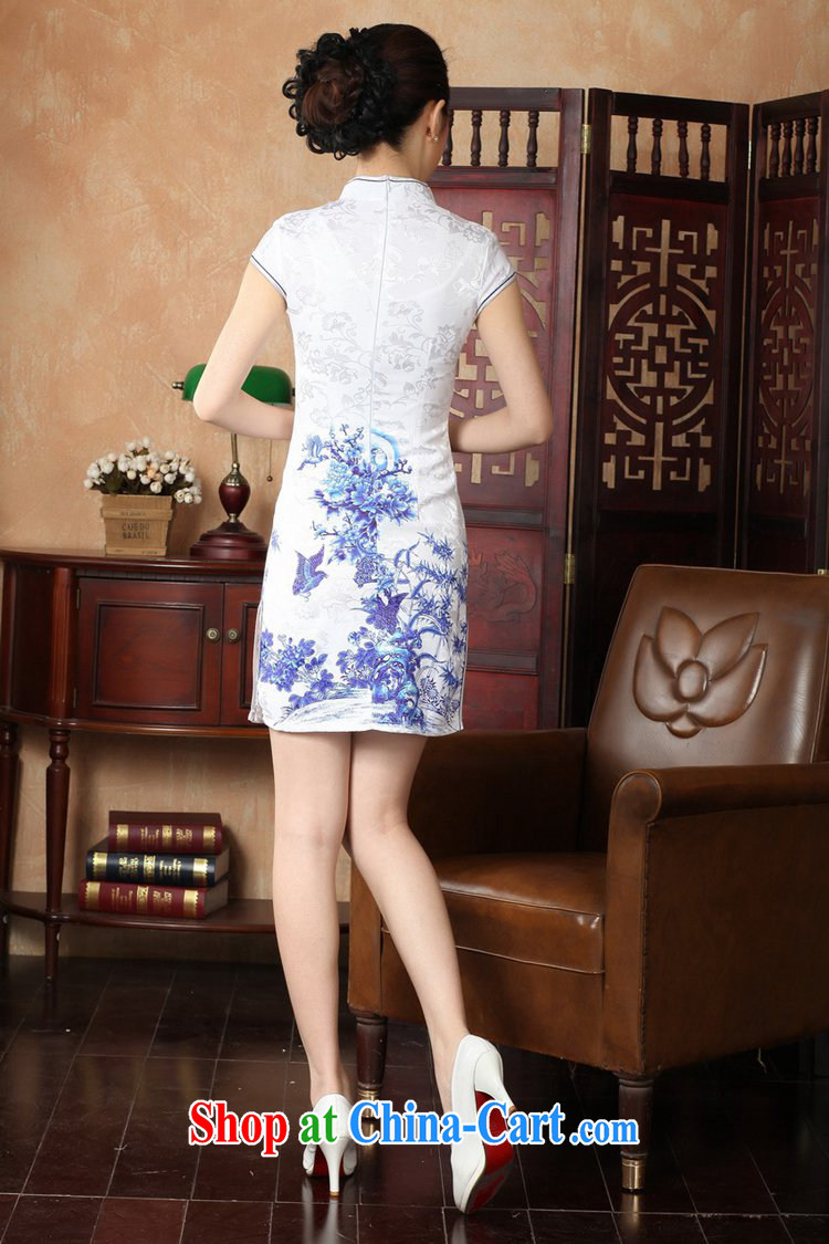 According to fuser new female retro improved Chinese Chinese qipao, for a tight Classic tray for cultivating short cheongsam dress LGD/D 0228 #red 2 XL pictures, price, brand platters! Elections are good character, the national distribution, so why buy now enjoy more preferential! Health