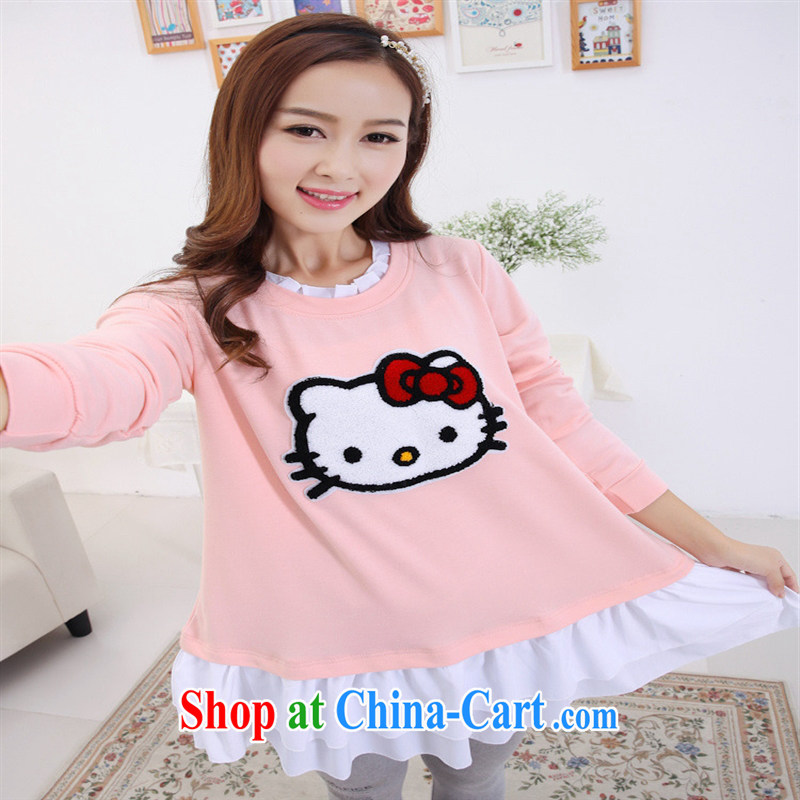 Health Concerns dress _ 6012 _2015 trend pregnant women with lovely high quality manual decals for pregnant women, solid dresses fluorescent Green - KT cat XL