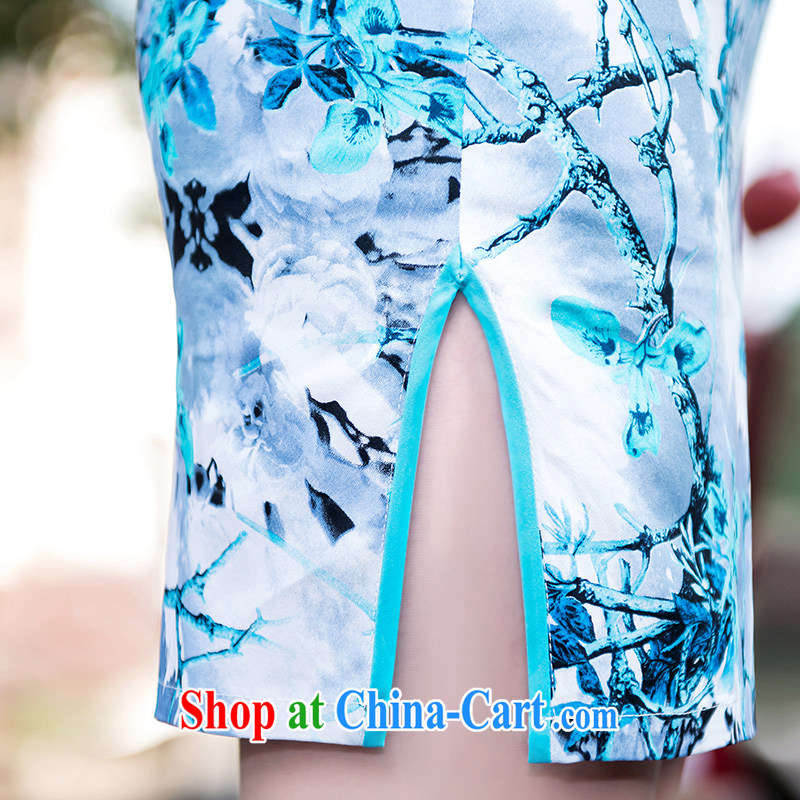 Elegance dress everyday dresses skirts stylish improved summer new retro beauty dresses picture color XL, according to Lin, Elizabeth, and shopping on the Internet