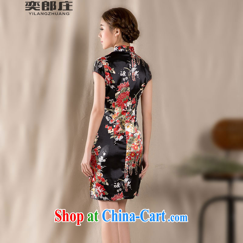 Sir David WILSON, Zhuang 2015 new spring and summer with a short-sleeved Chinese qipao refined antique China wind female dresses Z 1227 M suit, Sir David WILSON, Zhuang (YILANGZHUANG), and, on-line shopping