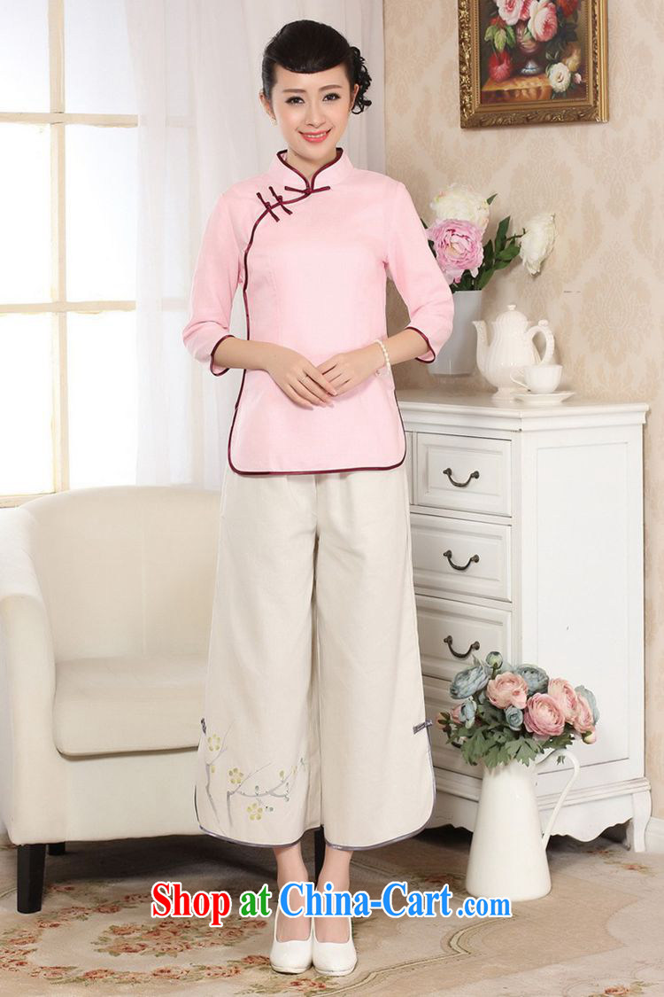 According to fuser new female retro ethnic wind improved Chinese qipao, for a tight Classic tray for cultivating 7 cuff Tang Replace T-shirt LGD/A 0070 white 2XL pictures, price, brand platters! Elections are good character, the national distribution, so why buy now enjoy more preferential! Health