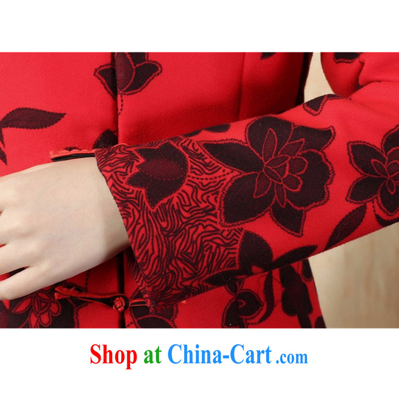 According to fuser Spring and Autumn and stylish new female Ethnic Wind improved Chinese qipao, suit for single tie Sau San Tong jackets LGD/J 0067 #3 XL, fuser, and Internet shopping