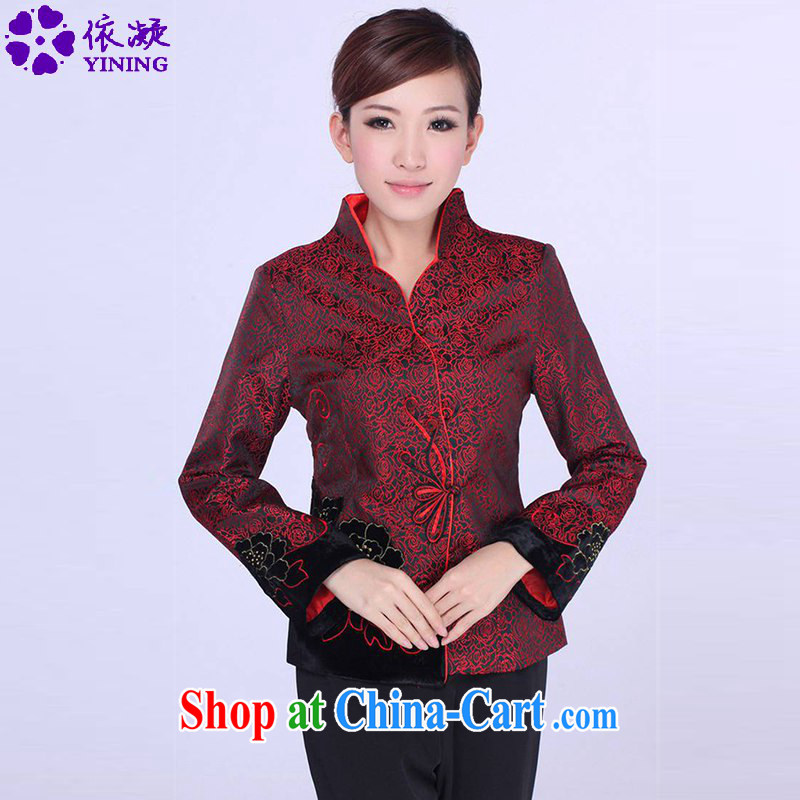According to fuser spring fashion new female Chinese improved Chinese qipao, for a kernel for decals Tang jackets LGD_J 0064 _3 XL