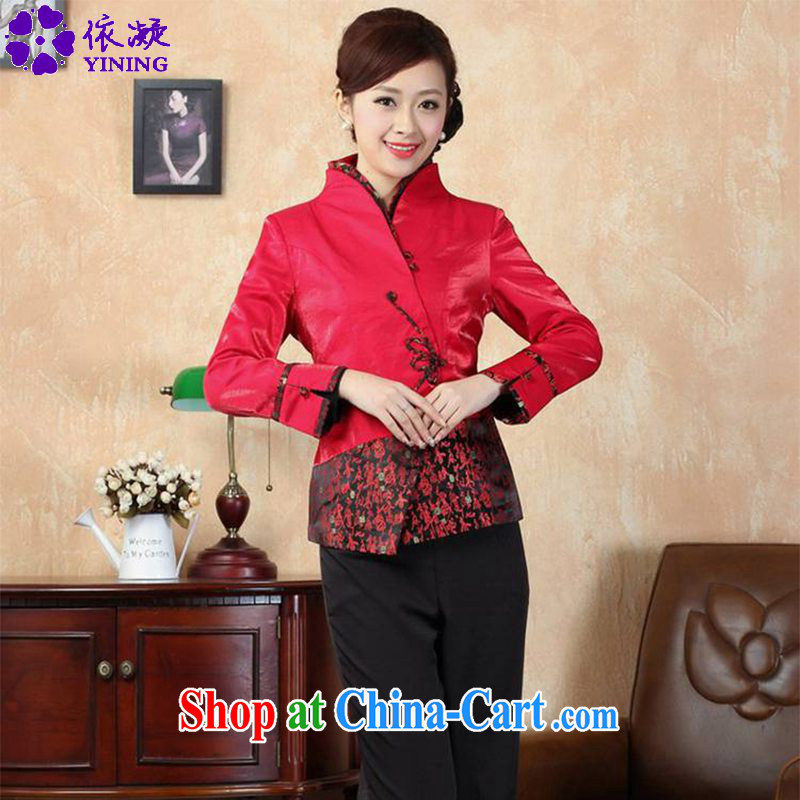 According to fuser spring fashion new female Chinese improved Tang jackets, for a tight suit stitching antique Tang jackets LGD/J 0070 #3 XL