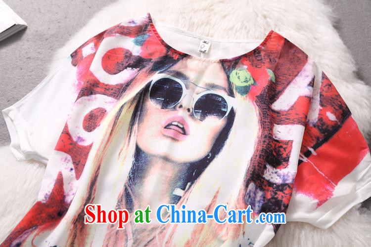 Deloitte Touche Tohmatsu store sunny summer new European site boutique women stars in Europe and America with stylish character stamp T pension picture color XL pictures, price, brand platters! Elections are good character, the national distribution, so why buy now enjoy more preferential! Health