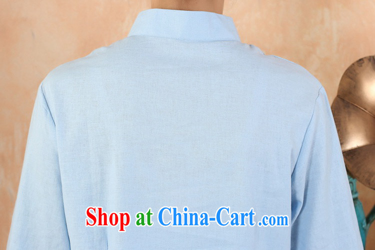According to fuser new female daily improved Chinese qipao, for classical-tie suit 7 cultivating a cuff Tang Replace T-shirt WNS/2379 #3 - 3 purple 3 XL pictures, price, brand platters! Elections are good character, the national distribution, so why buy now enjoy more preferential! Health