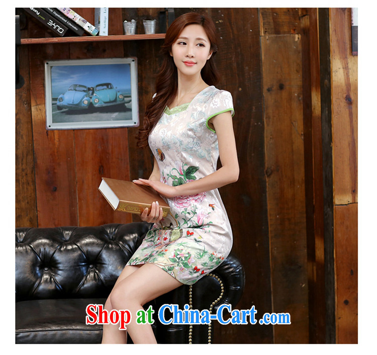 Well, according to 2015 summer dress new ethnic wind cheongsam dress retro daily improved jacquard career with skirt summer Dan Feng cited butterfly M pictures, price, brand platters! Elections are good character, the national distribution, so why buy now enjoy more preferential! Health