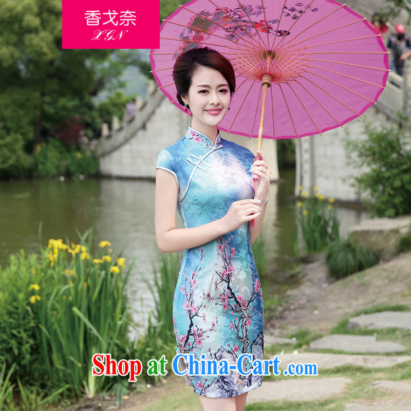 The Scent of Summer 2015 with new Ethnic Wind Chinese style beauty, antique dresses for 92 skirt of red XXL