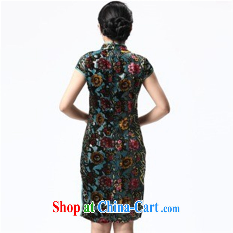 2014 new cheongsam dress summer trendy short-sleeved cultivating improved cheongsam cheongsam wholesale picture color XXXL, health concerns (Rvie .), and, on-line shopping