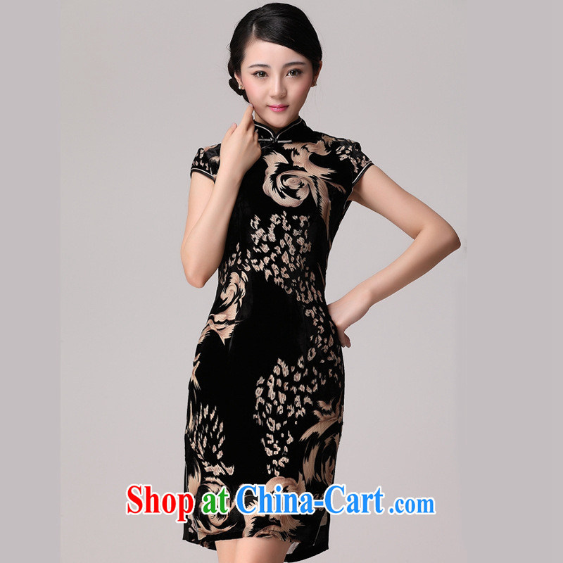 elections -- 2014 summer dresses high quality improved stylish summer dresses skirt picture color XXXL