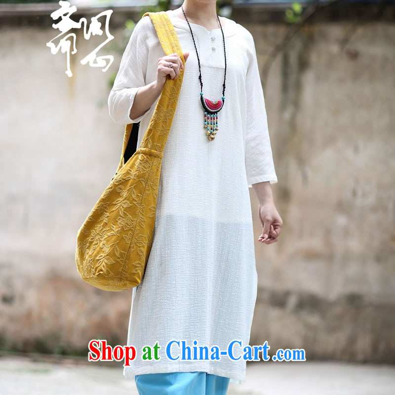 Asked about Ramadan and the Hyatt heart health female summer new V collar jacquard cotton skirt the robe long Zen jacquard T-shirt 1905 V white collar shirt $526 are code