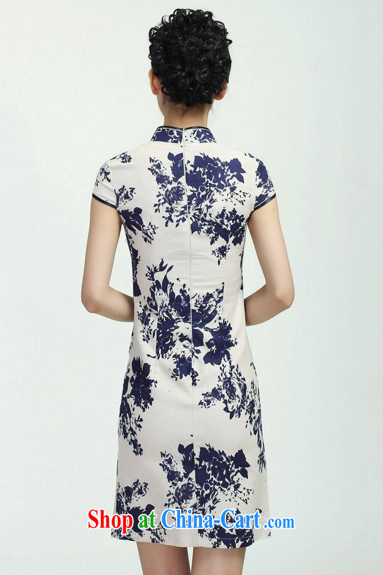 According to fuser new female daily improved Chinese qipao is a flap Classic tray snap-suit cultivating short Chinese qipao dress WNS/2368 #3 - 3 #2 XL pictures, price, brand platters! Elections are good character, the national distribution, so why buy now enjoy more preferential! Health