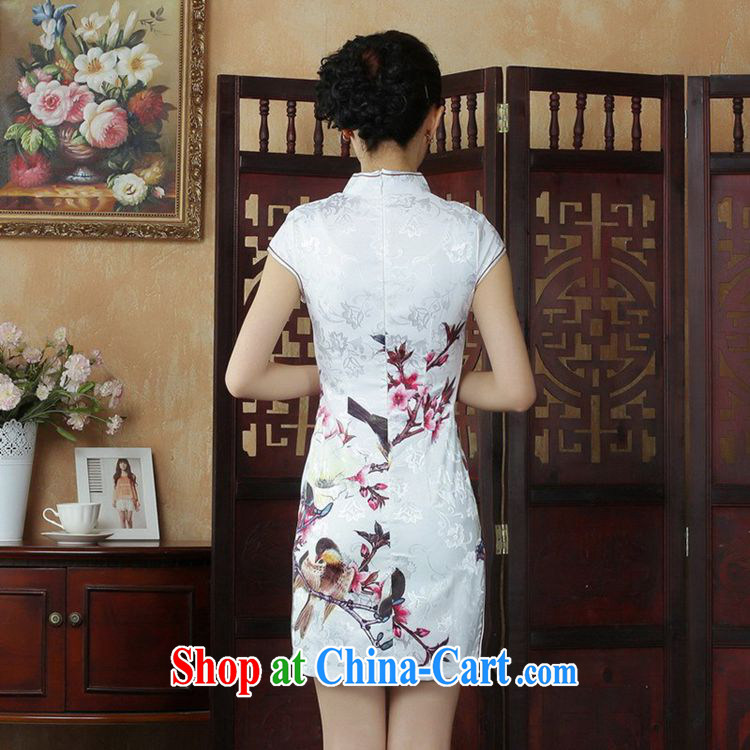 According to fuser summer stylish new ladies retro improved Chinese Chinese qipao, for a tight beauty short Chinese qipao dress LGD/D #0248 figure 2 XL pictures, price, brand platters! Elections are good character, the national distribution, so why buy now enjoy more preferential! Health