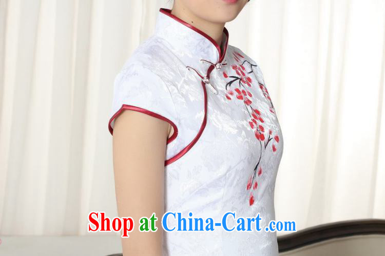 Nigeria, the Summer new dress clothes and stylish elegance Chinese qipao hand painted dresses D 0092 XXL pictures, price, brand platters! Elections are good character, the national distribution, so why buy now enjoy more preferential! Health
