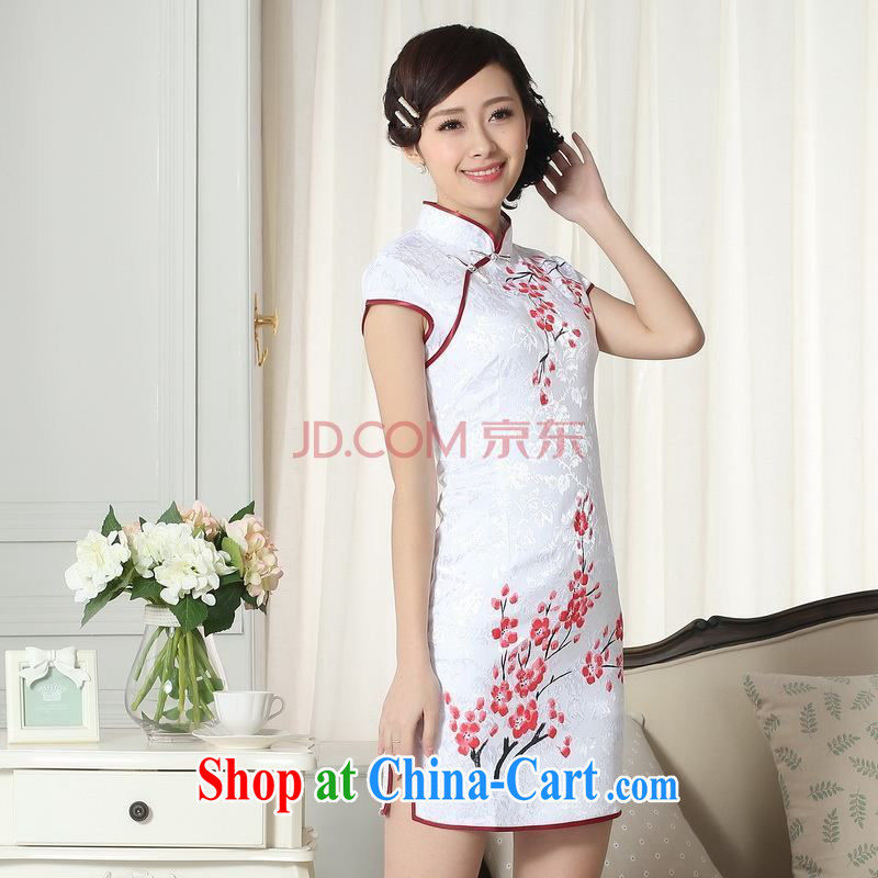 Nigeria, the Summer new dress clothes and stylish elegance Chinese qipao hand painted dresses D XXL 0092, Nigeria, and, on-line shopping