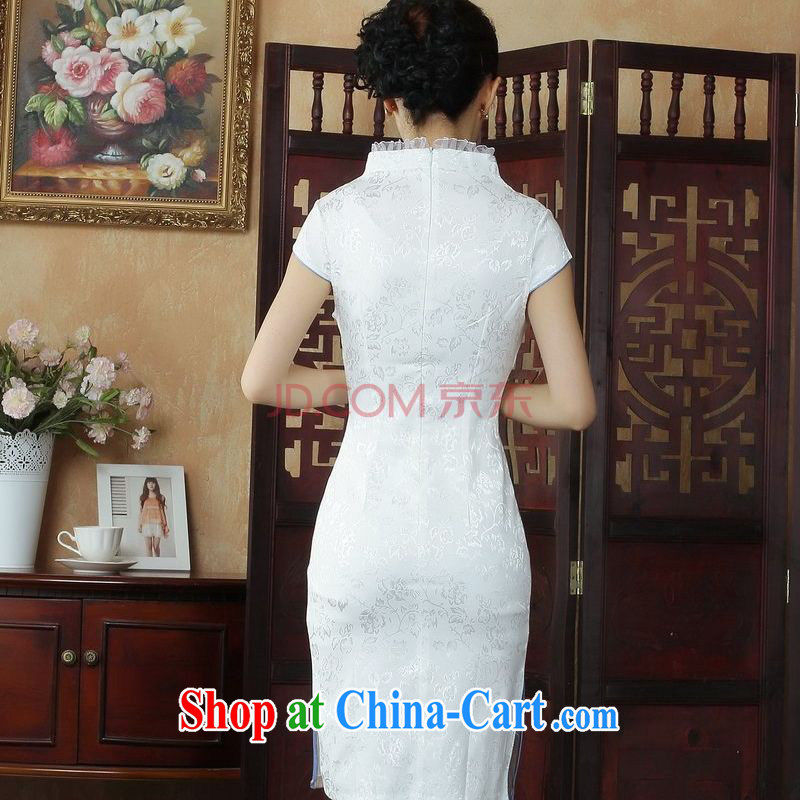 Nigeria, the dresses summer dresses, Ms. Tang is improved summer dresses, embroidery for Chinese qipao picture color L, Nigeria, and, shopping on the Internet