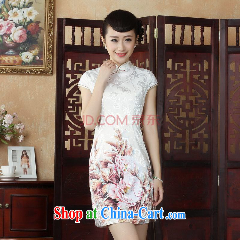 The Nigerian Government, Ms. Tang replace cheongsam dress refined and elegant antique Sau San cheongsam dress dresses picture color XXL