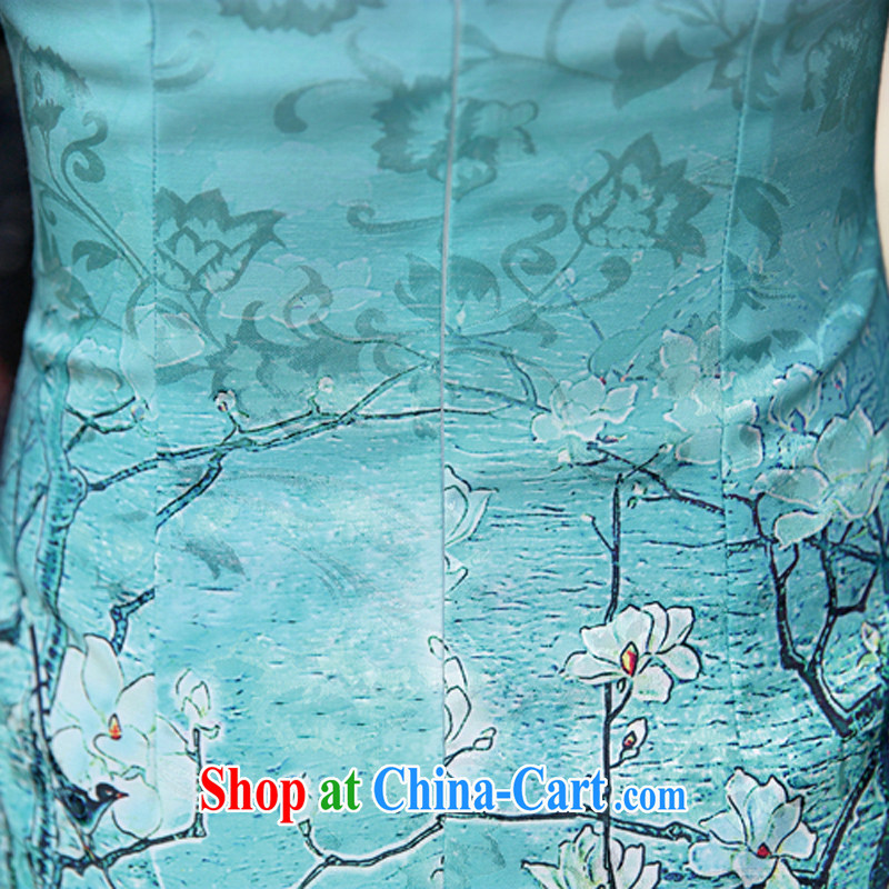 The Scent of Summer 2015 with new Ethnic Wind Chinese style beauty, antique dresses for skirts of 92 red XXL, Ms. Tung (Miss . Dong), shopping on the Internet