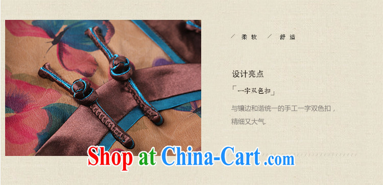 once and for all and proverbial hero, Joseph long, silk cheongsam dress stamp duty improved 2015 new spring and summer retro cheongsam dress suit L pictures, price, brand platters! Elections are good character, the national distribution, so why buy now enjoy more preferential! Health