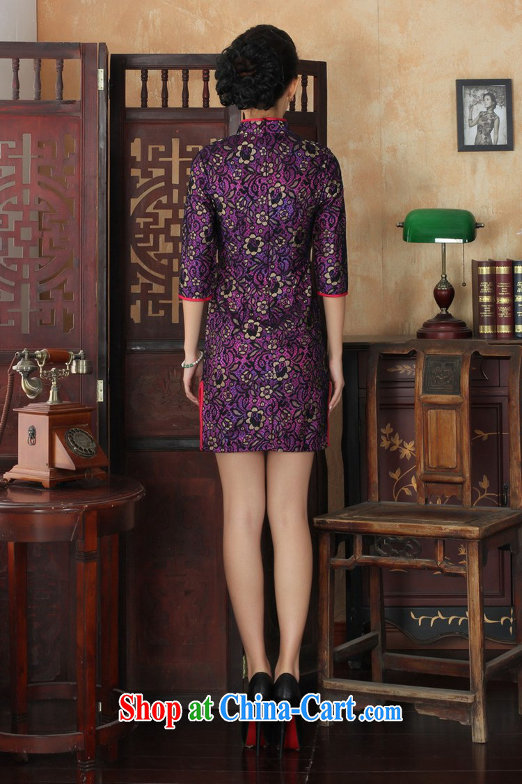According to fuser stylish new clothes improved Chinese qipao retro lace-cultivating cheongsam dress cuff in Chinese cheongsam dress LGD/TD #0017 figure 2 XL pictures, price, brand platters! Elections are good character, the national distribution, so why buy now enjoy more preferential! Health
